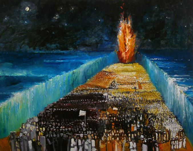 Image result for moses pillar of fire